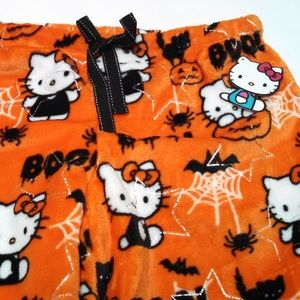 9e8114060 Hello Kitty Intimates & Sleepwear - Hello Kitty Halloween Fleece Pants  Sleepwear Large